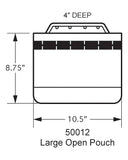 50012 Large Open Pouch