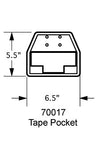 70017 Tape Pocket