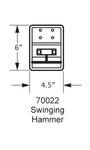 70022 Swinging Hammer Hanger