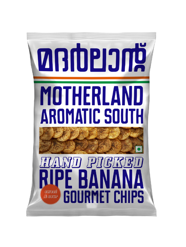 Ripe Banana Chips (Pack of 3) by Motherland