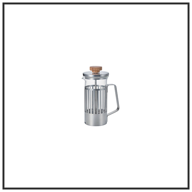Glass & Metal Coffee French Press