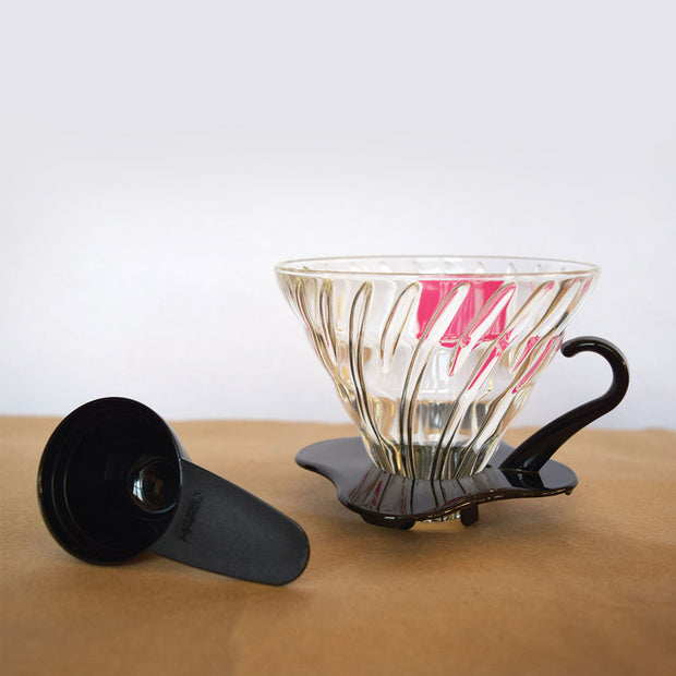 V60 Glass & Plastic Coffee Dripper/Pour Over