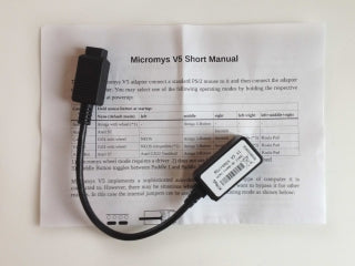 PS/2 Mouse adapter Micromys V5