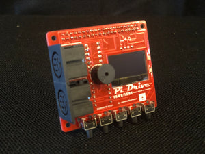 PiDRIVE *RED EDITION* Raspberry Pi HAT 1541 1581 Commodore 64 128 Vic-20 Emulator OLED Pi1541