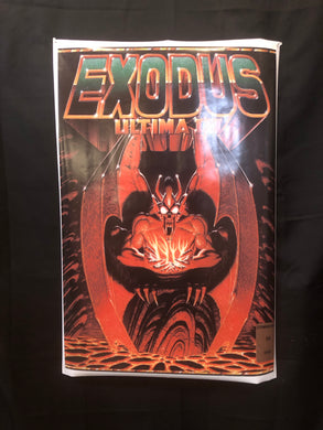 EXODUS Ultima III Poster-Box Art