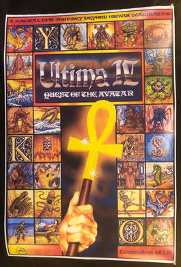 Ultima IV Quest if the Avatar Poster-Box Art
