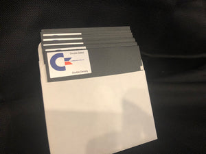 10 DS/DD Commodore4ever 5 1/4 Floppy Disks