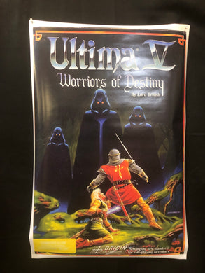Ultima V Warriors of Destiny Poster-Box Art