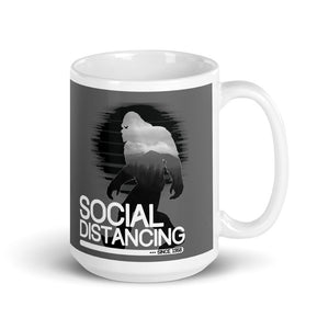 Bigfoot Social Distancing Mug - Headhunter Gear