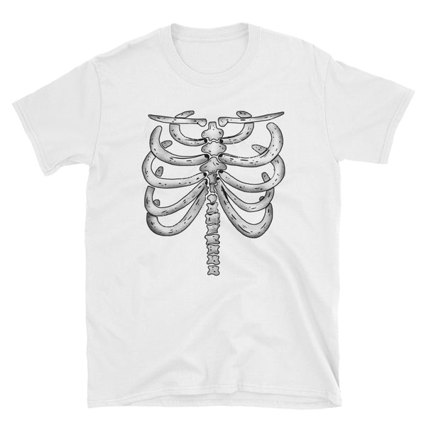 Ribcage Bones Shirt - Headhunter Gear