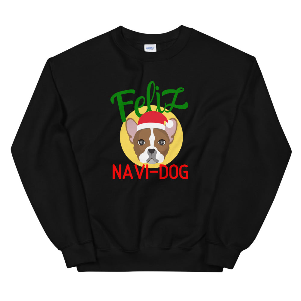 Feliz Navi-DOG Christmas Sweatshirt - Headhunter Gear