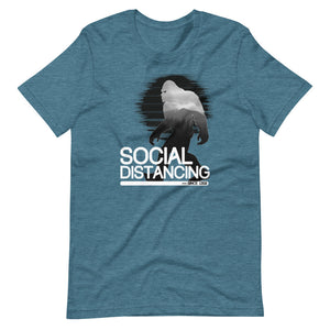 Bigfoot Social Distancing T-Shirt - Headhunter Gear