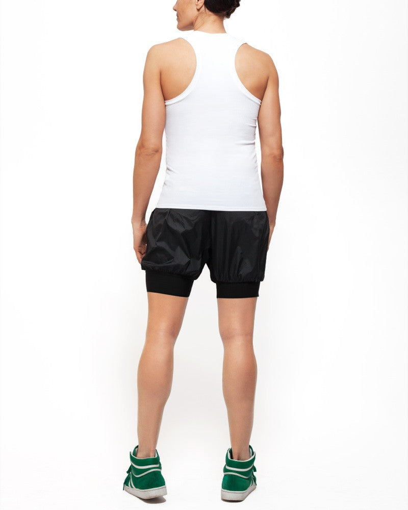 Deep V Tank White - Kor Cycling