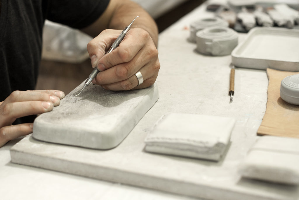 Concrete paperweights: Sturdy, Solid Style