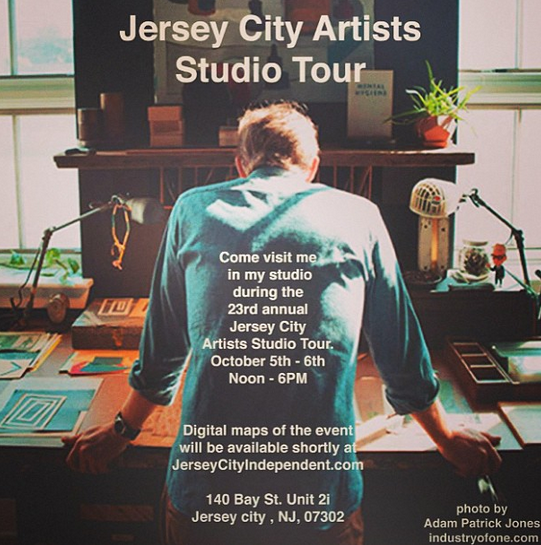 Jersey City Studio Tour: Oct 4-6