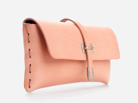 No. 125 Small Leather Clutch
