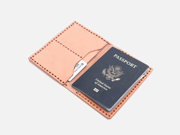 No. 153 Passport Wallet, Natural