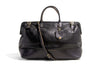 No. 166 Large Carryall, Black Leather