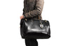 Lifestyle view No 166 Large Carryall in Black - Bags - www.billykirk.com