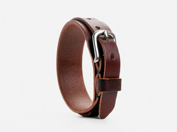 No. 205 Double Wrap Cuff, Brown