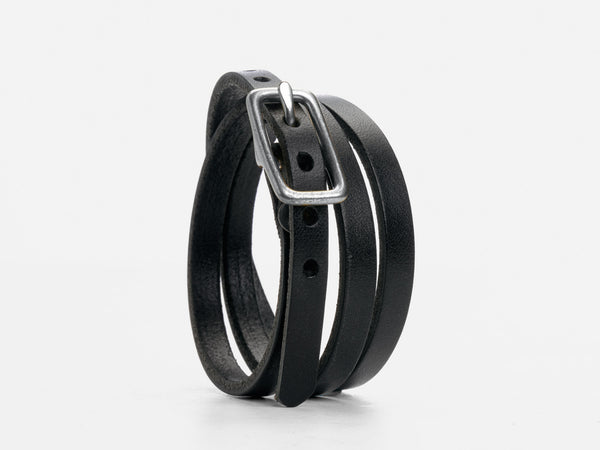 No. 210 Triple Wrap Cuff, Black