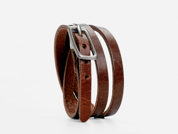 No. 210 Triple Wrap Cuff, Brown