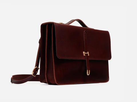"No. 236 13"" Schoolboy Satchel"