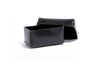 No. 361 Small Leather Box, Black
