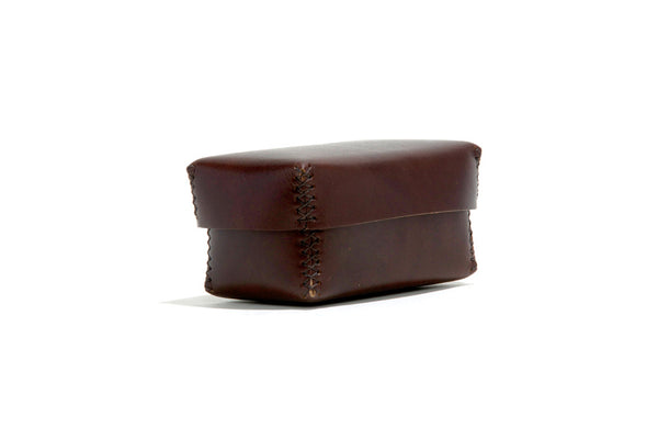No. 361 Small Leather Box, Brown
