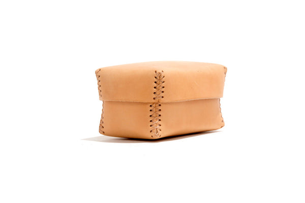 No. 361 Small Leather Box, Natural