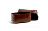 No. 361 Small Leather Box, Tan