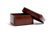 No. 362 Large Leather Box, Brown