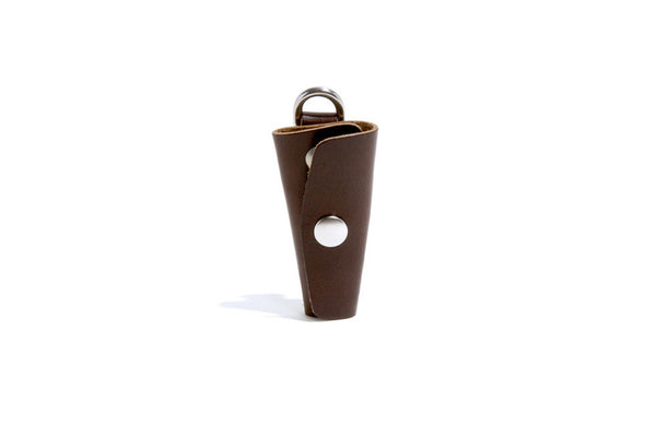No. 364 Key Holster With Snap, Brown