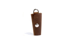 No. 364 Key Holster With Snap, Tan