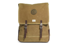No. 372 Rucksack, Tan Waxed