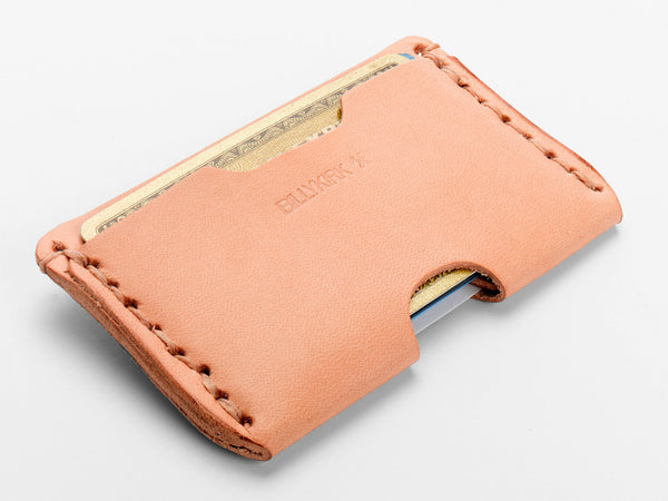 No. 397 Slim Card Case, Natural