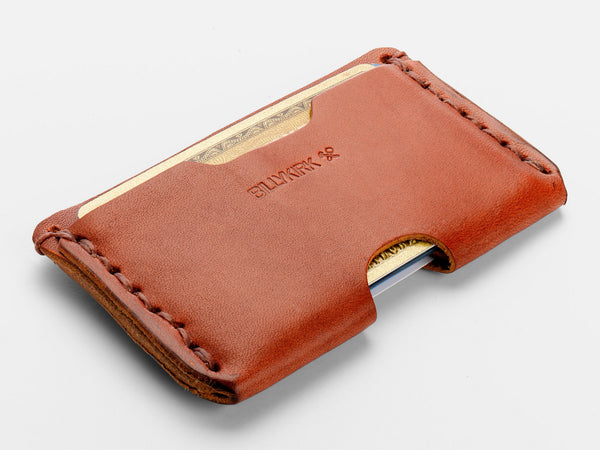 No. 397 Slim Card Case, Tan