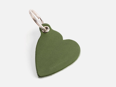 No. 426 Heart Keychain Green