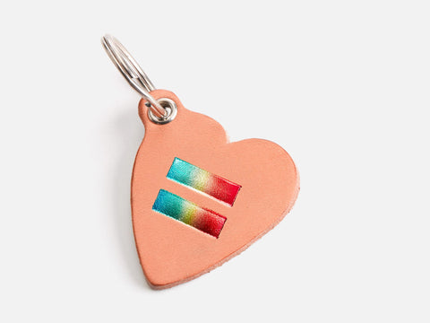 No. 426 Heart Keychain, The Ally Collection