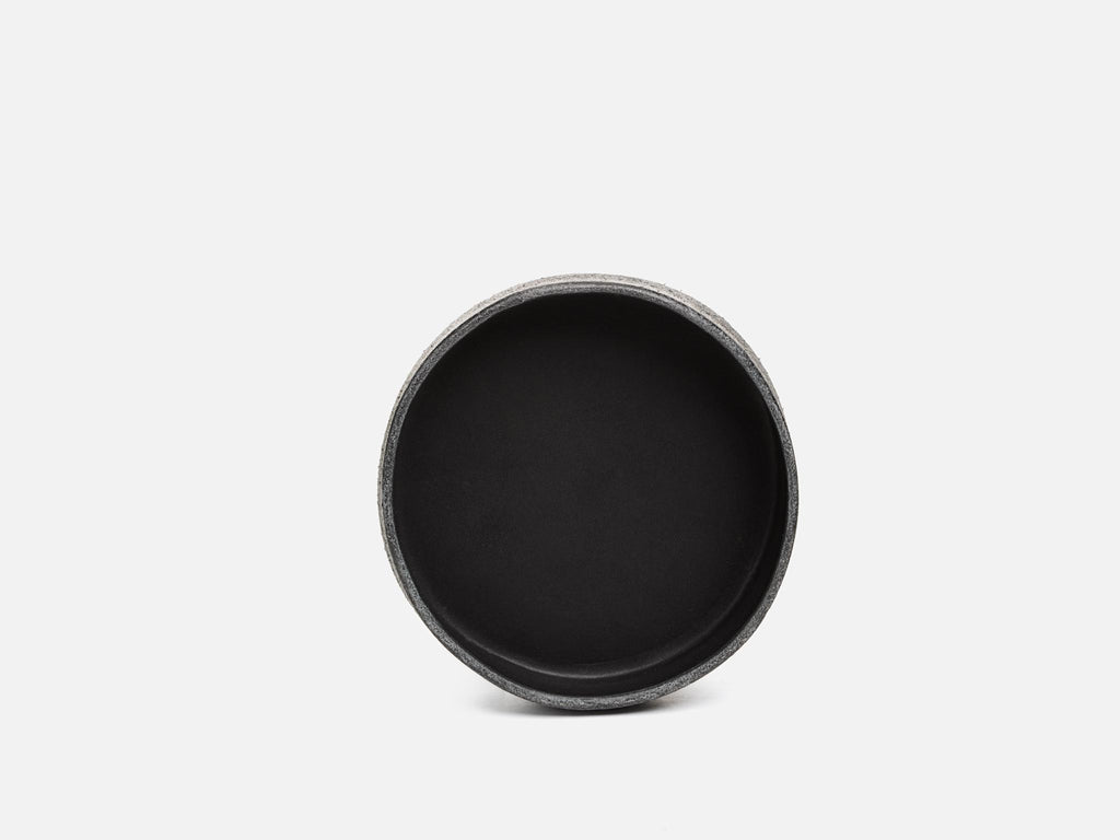 No. 434 Black Round Valet Tray