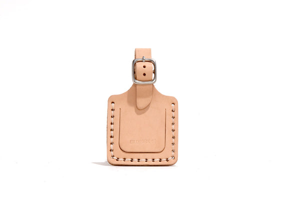 No. 146 Custom Luggage Tag, Natural