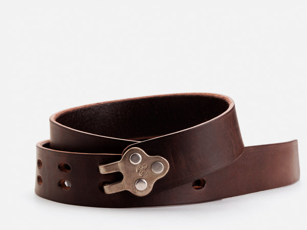 No. 150 Claw Buckle Belt, Brown