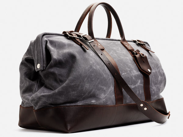 No. 167 Large Carryall, Ash Waxed