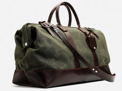 No. 167 Large Carryall, Olive Waxed