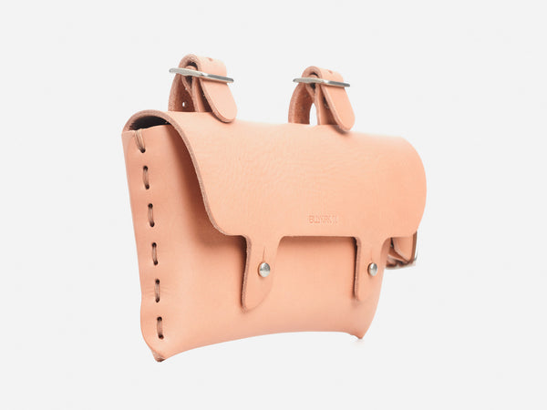 No. 211 Frame Bike Pouch, Natural
