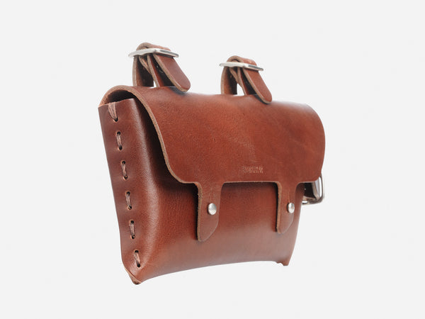 No. 211 Frame Bike Pouch, Tan