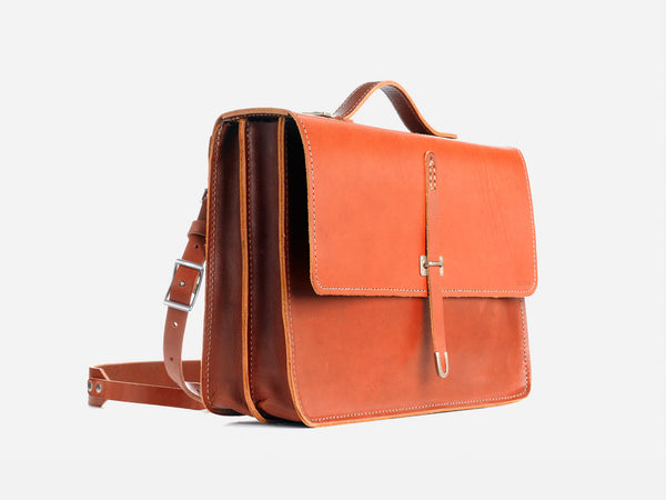 No. 236 Schoolboy Satchel, Tan