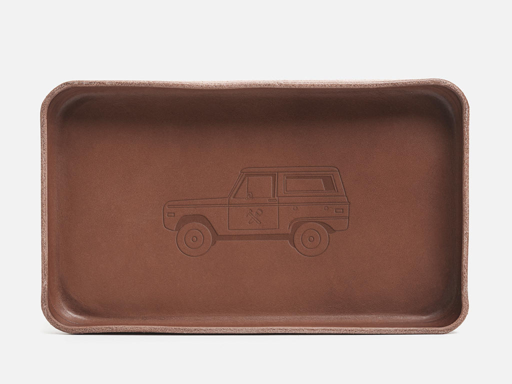 No. 309 Nut Brown Valet Tray