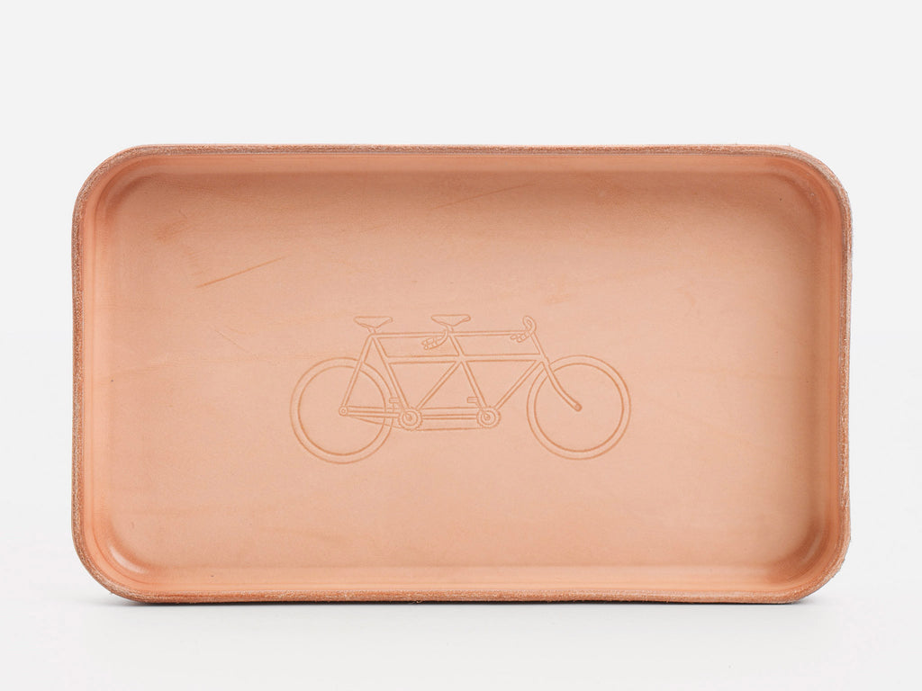 No. 309 Leather Valet Tray, Tandem Bike