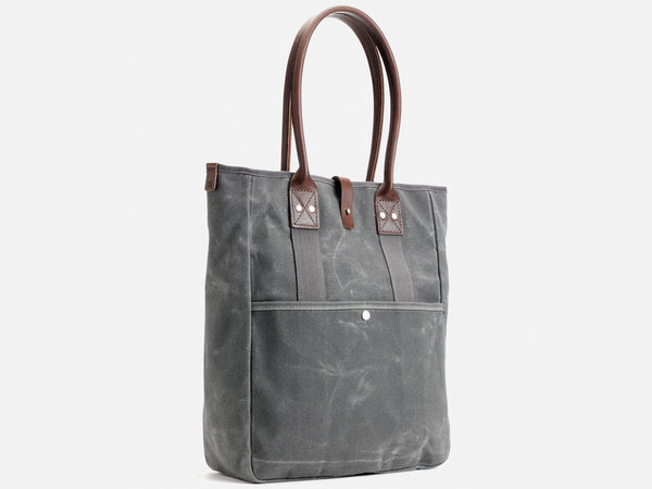No. 326 Commuter Tote, Ash Waxed